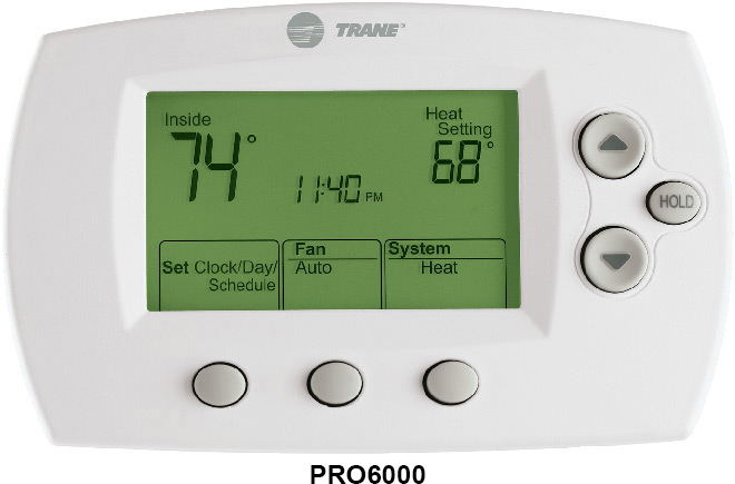 Digital programmable thermostats