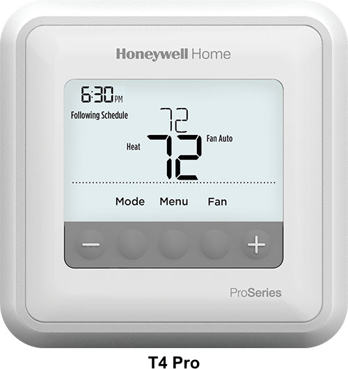 T4 Pro thermostat