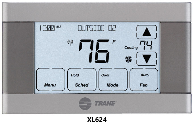 Touch Screen programmable thermostats